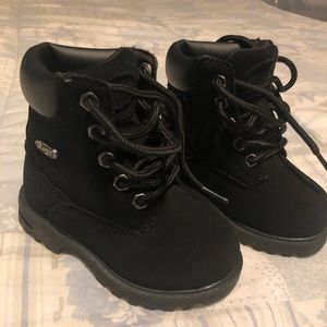 Toddler Black Lugz Boots